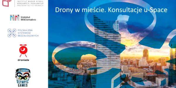 Drony w mieście. Konsultacje U-space. - Kraków, 04.04.2018